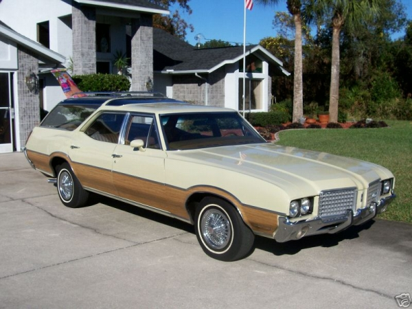 1972 Oldsmobile Vista Cruiser #3