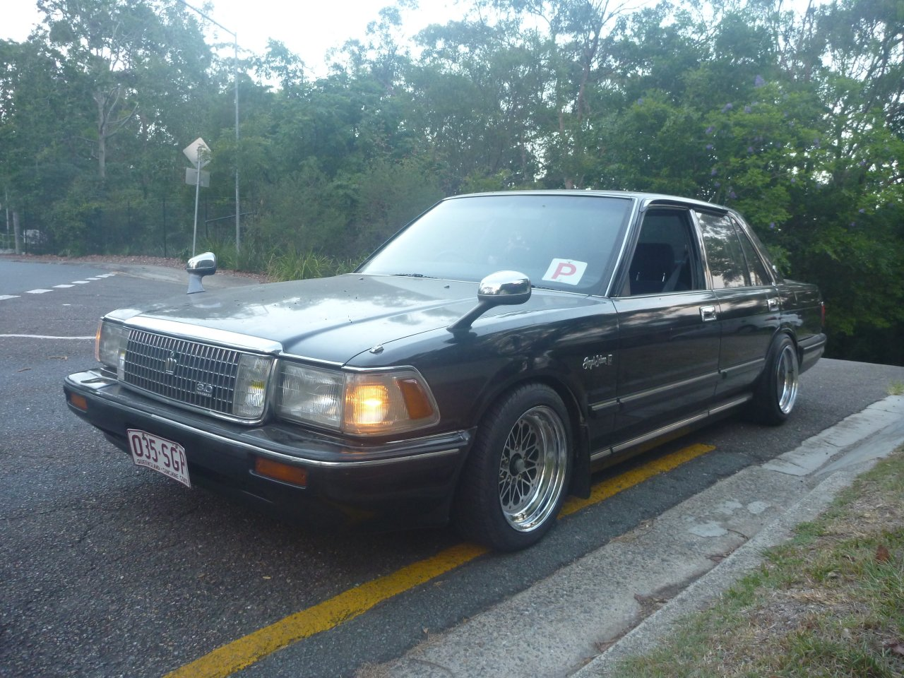 1987 Toyota Crown #8