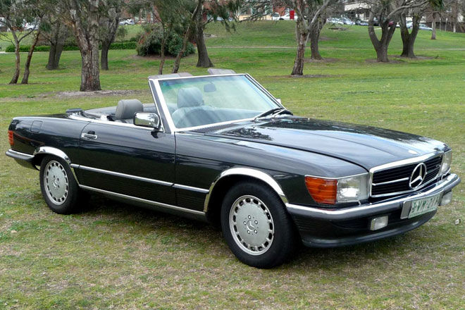 1989 Mercedes-Benz SL #10