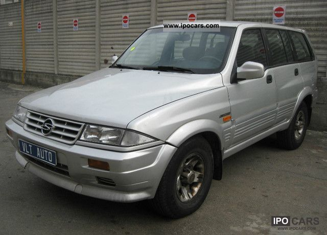 1996 Ssangyong Musso #6