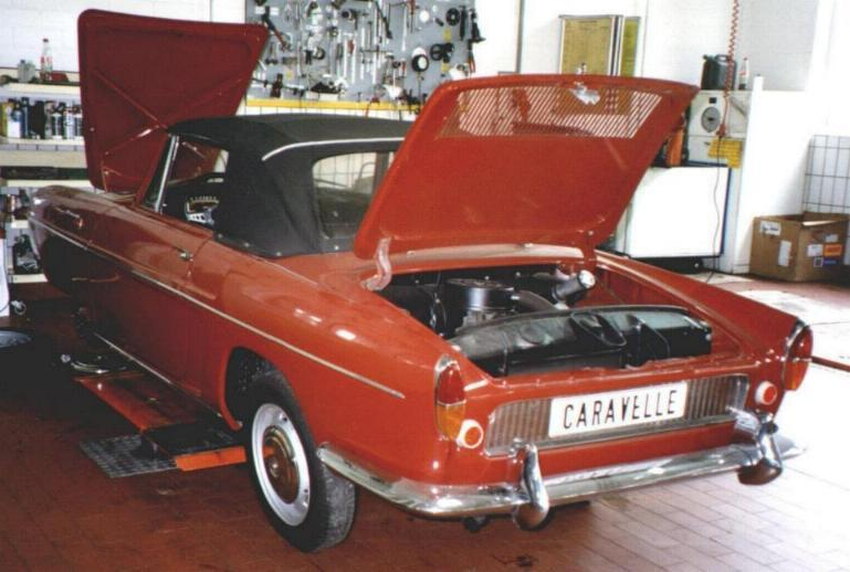 1962 Renault Caravelle #9