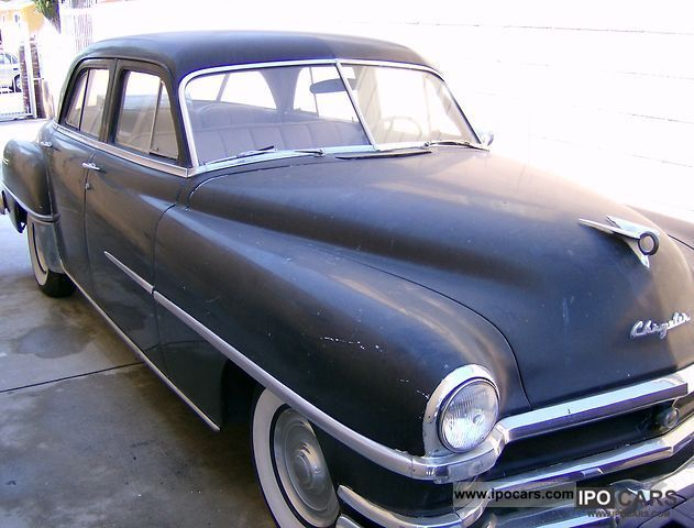 1952 Chrysler Windsor #7