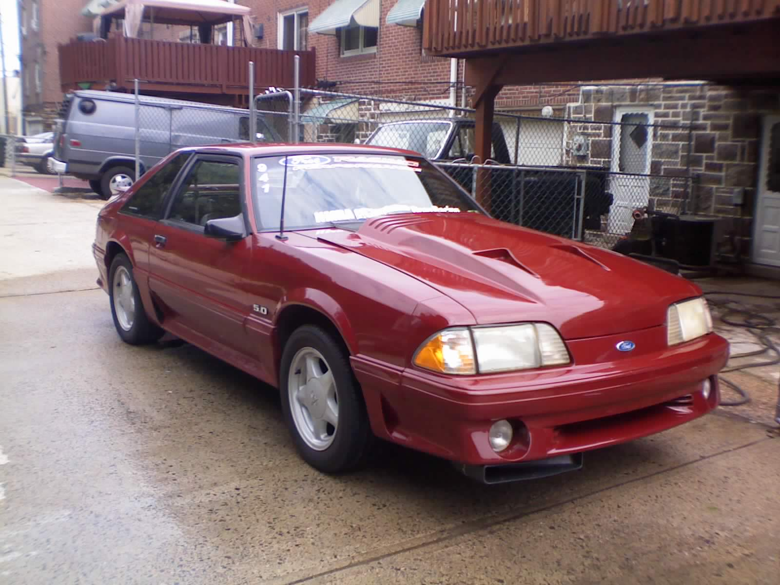 1991 Ford Mustang #5