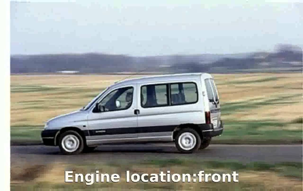 2000 Citroen Berlingo #11