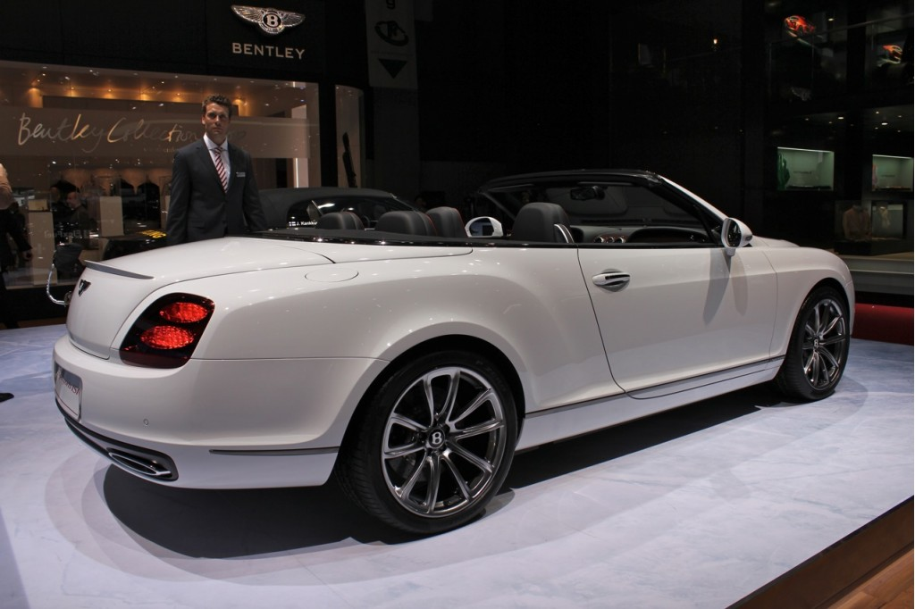 2011 Bentley Continental Supersports Convertible #14