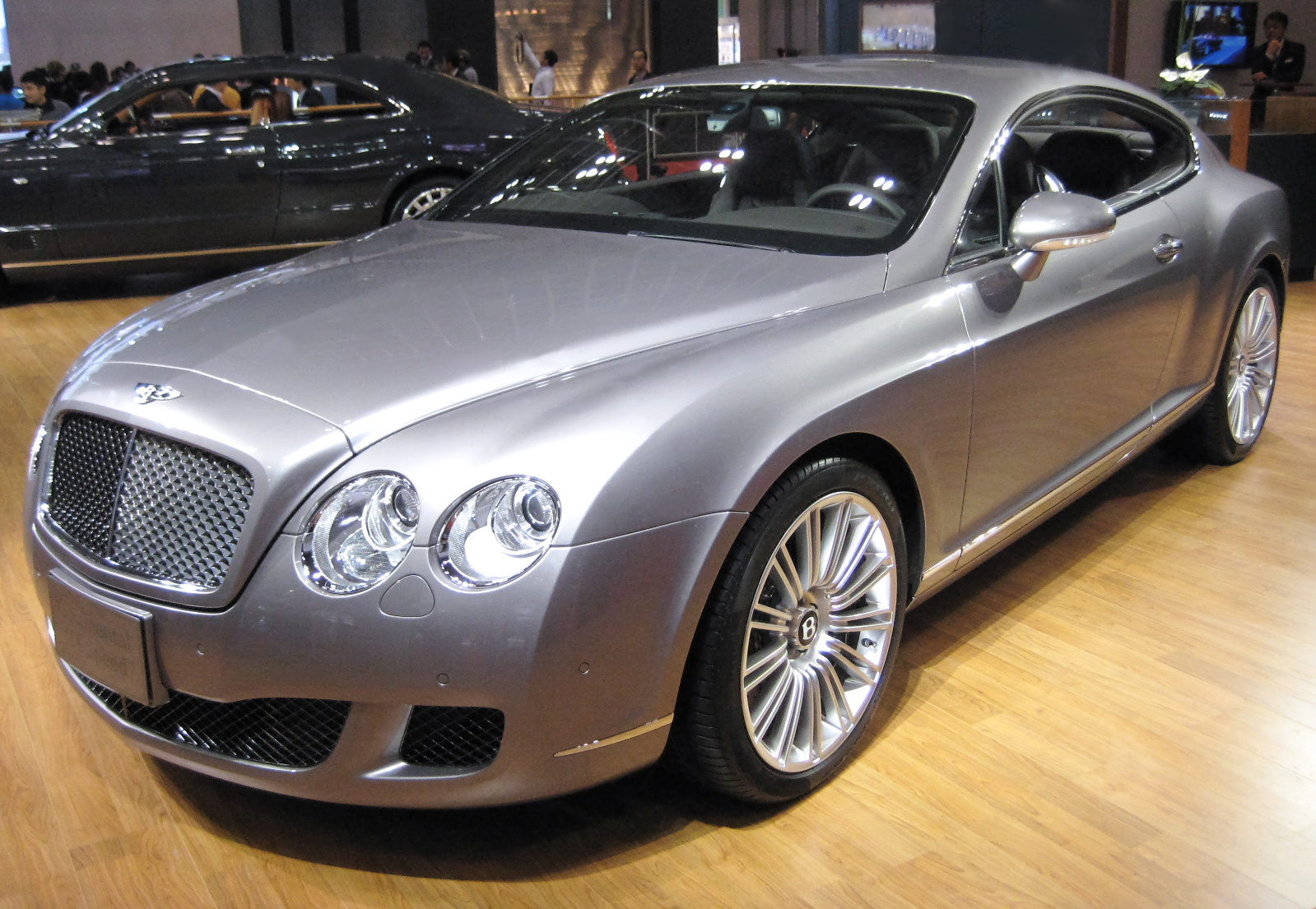 2009 Bentley Continental Gt Speed #5