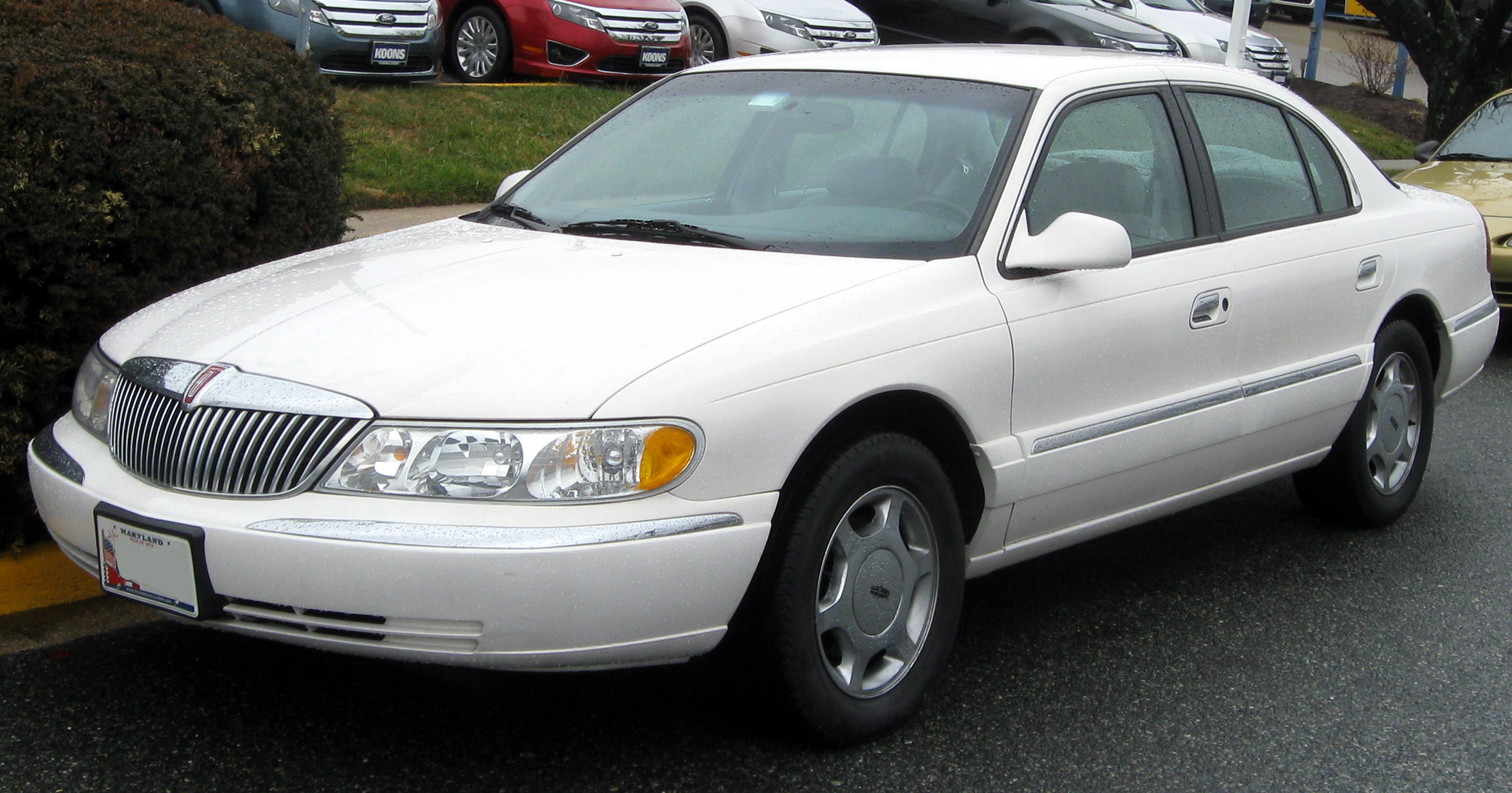 2002 Lincoln Continental Photos Informations Articles