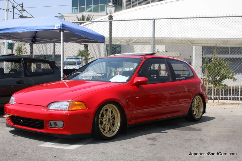 1994 Honda Civic #8