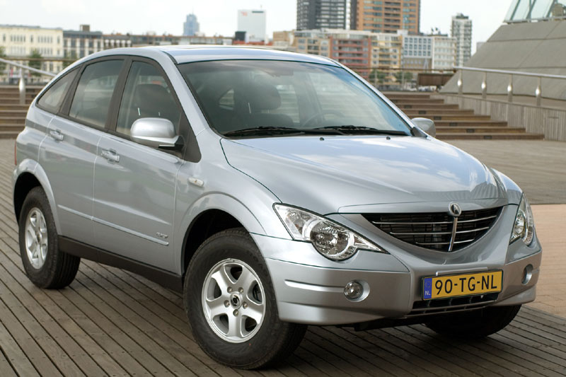 2006 Ssangyong Actyon #4