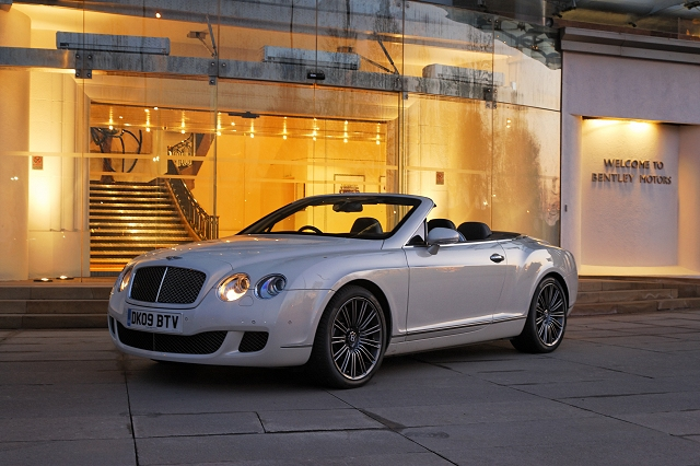 2011 Bentley Continental Gtc Speed #8