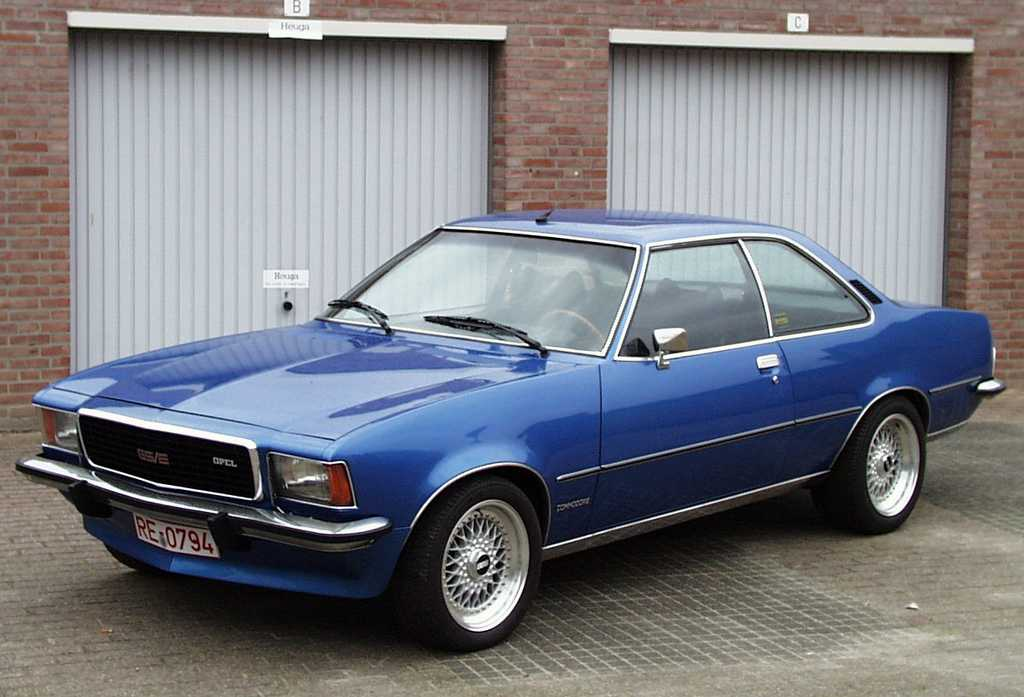 1972 Opel Commodore #8