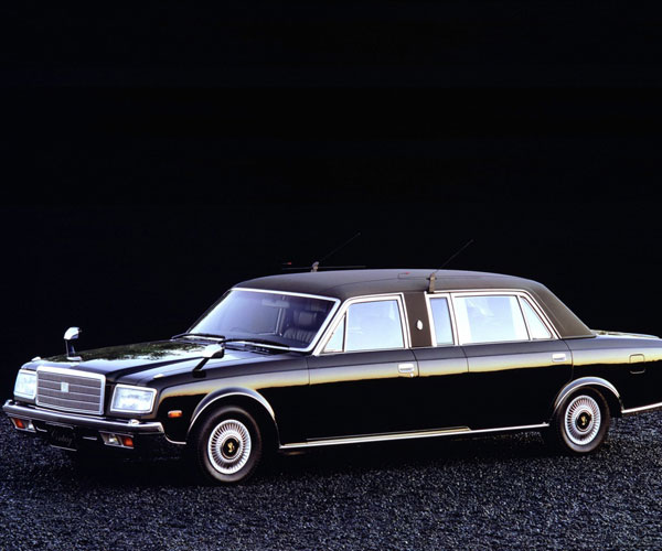1990 Toyota Century Photos, Informations, Articles