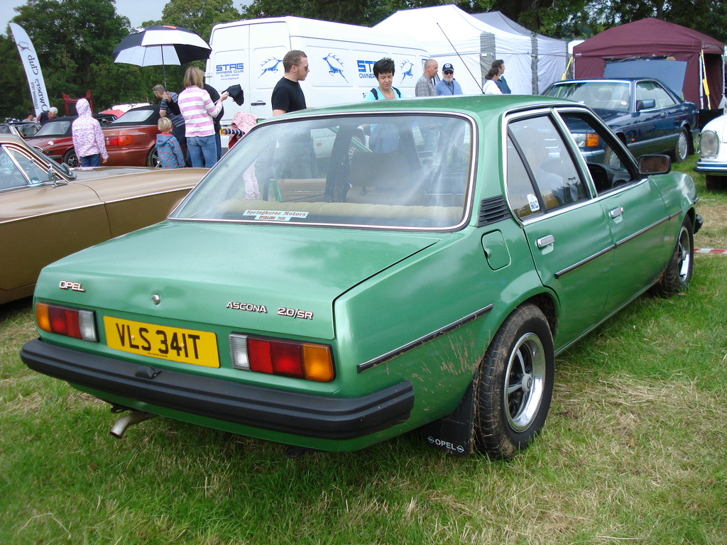 1979 opel ascona photos informations articles. Black Bedroom Furniture Sets. Home Design Ideas