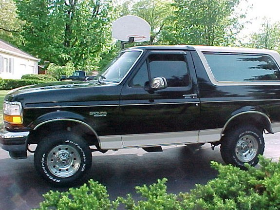 1993 Ford Bronco #7