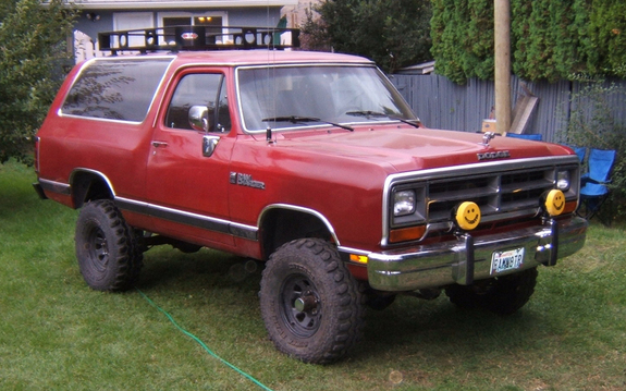 1990 Dodge Ramcharger #1