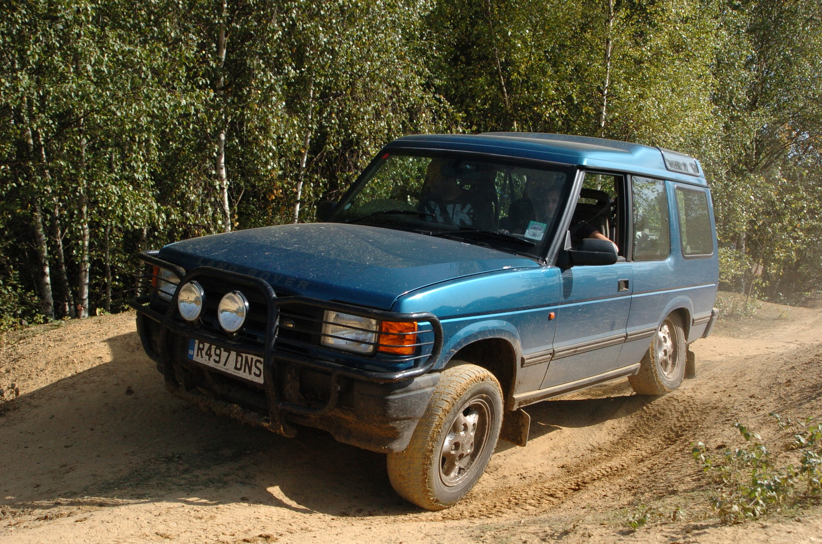 1997 Land Rover Discovery #15
