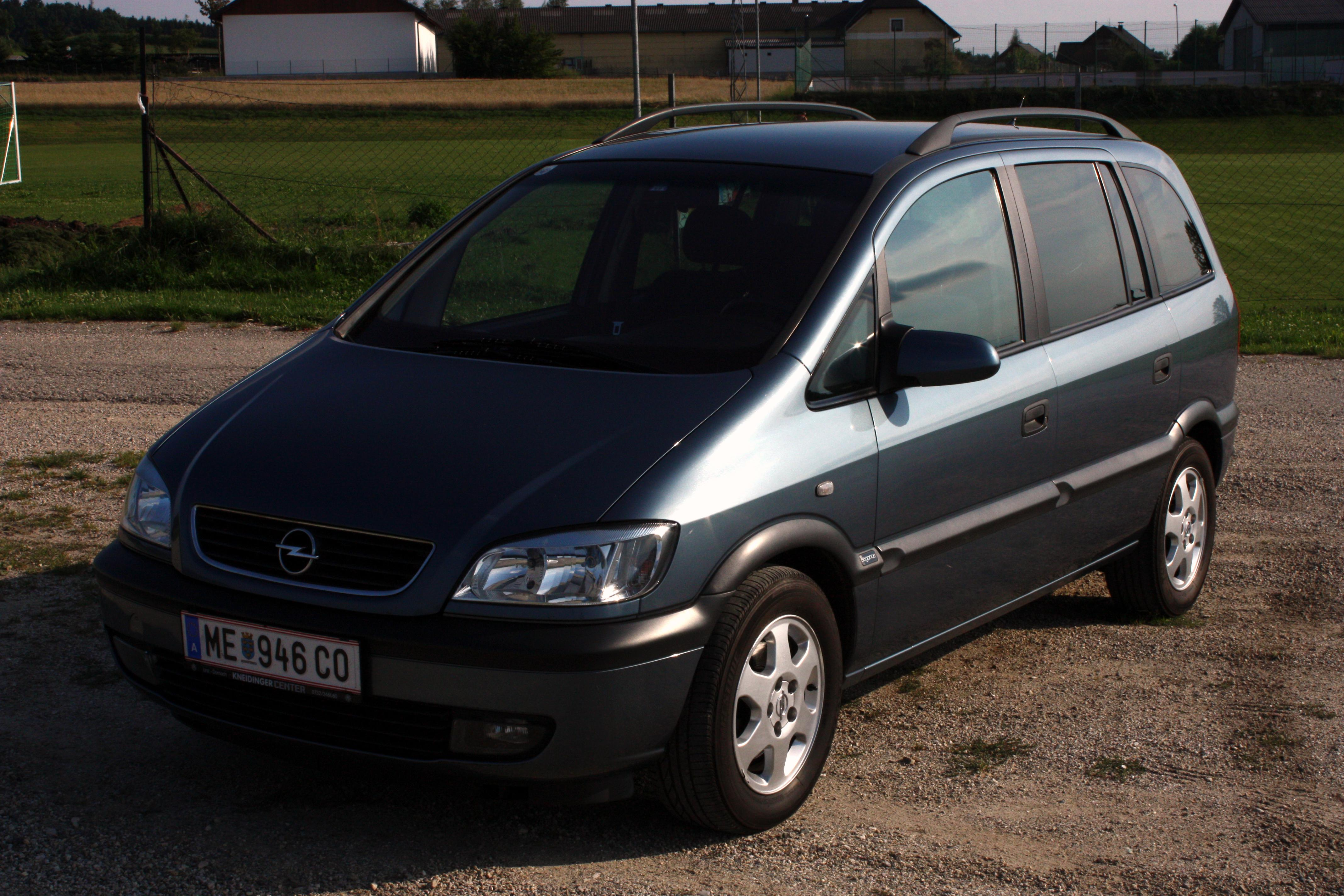 2001 opel zafira photos informations articles. Black Bedroom Furniture Sets. Home Design Ideas