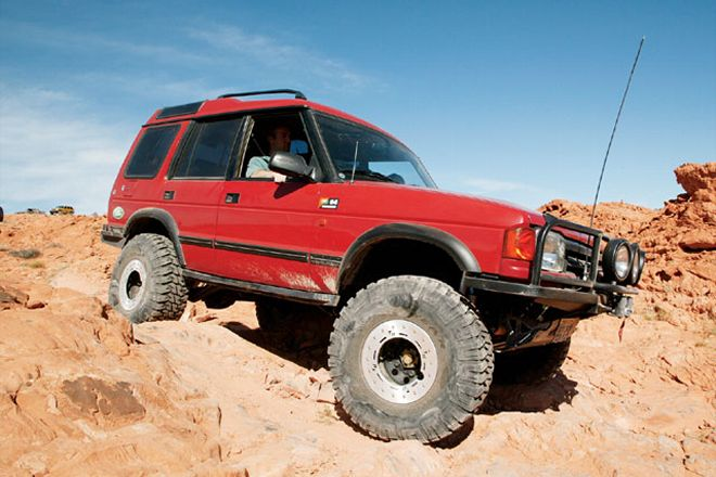 1994 Land Rover Discovery #14