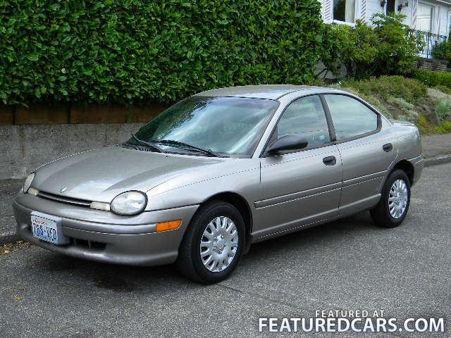 1998 Chrysler Neon #14