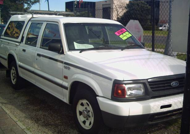 1998 Ford Courier #8