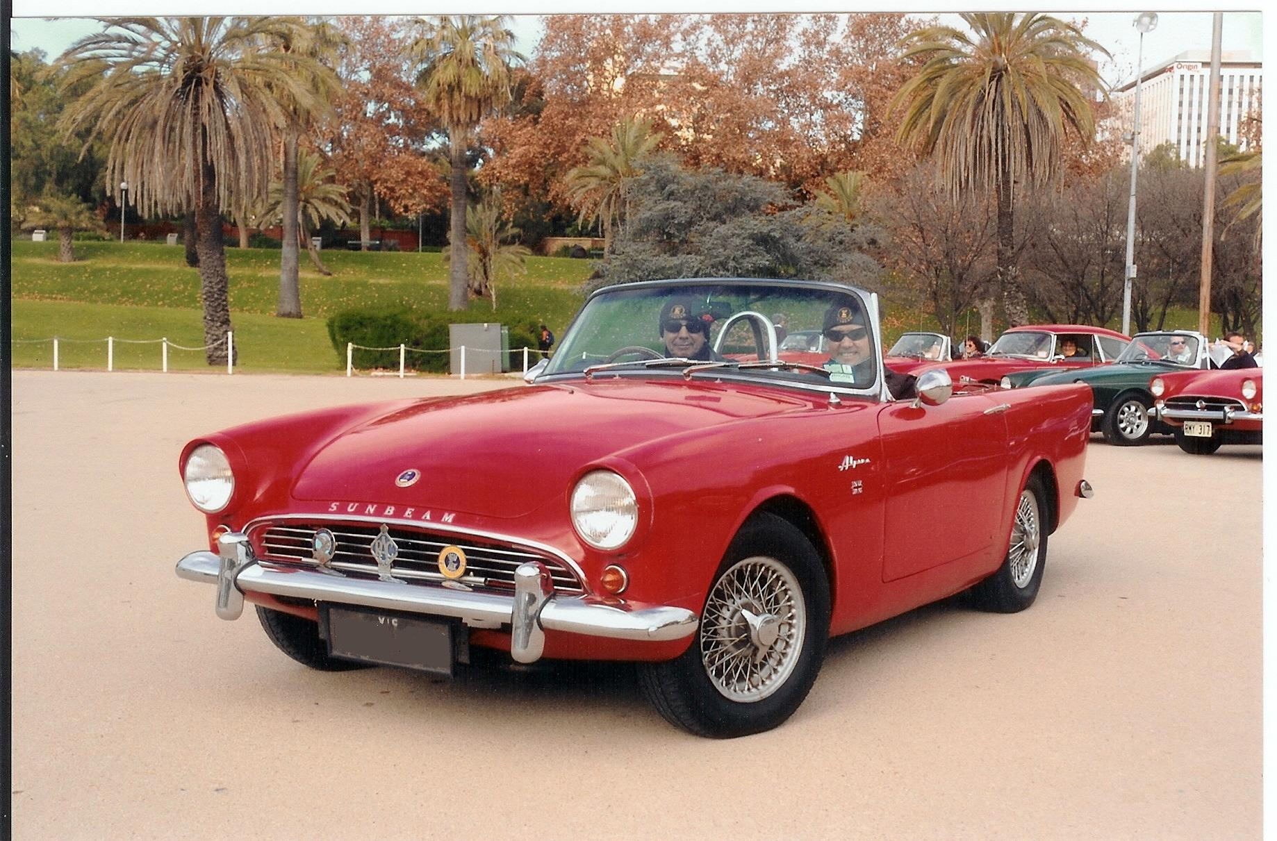 1962 Sunbeam Alpine #5