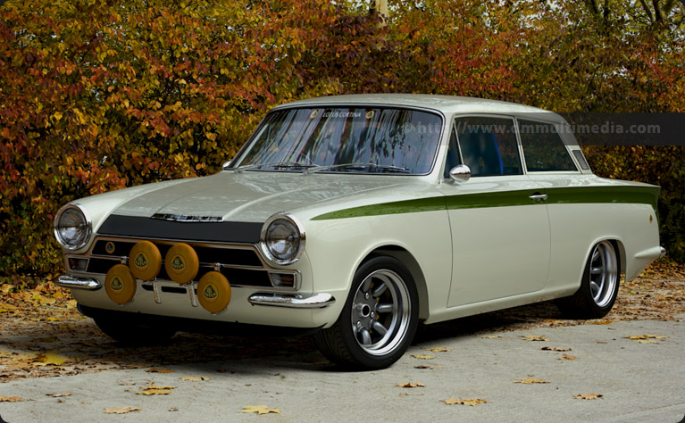 Ford Lotus Cortina #13