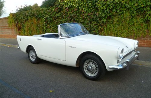 1962 Sunbeam Alpine #16