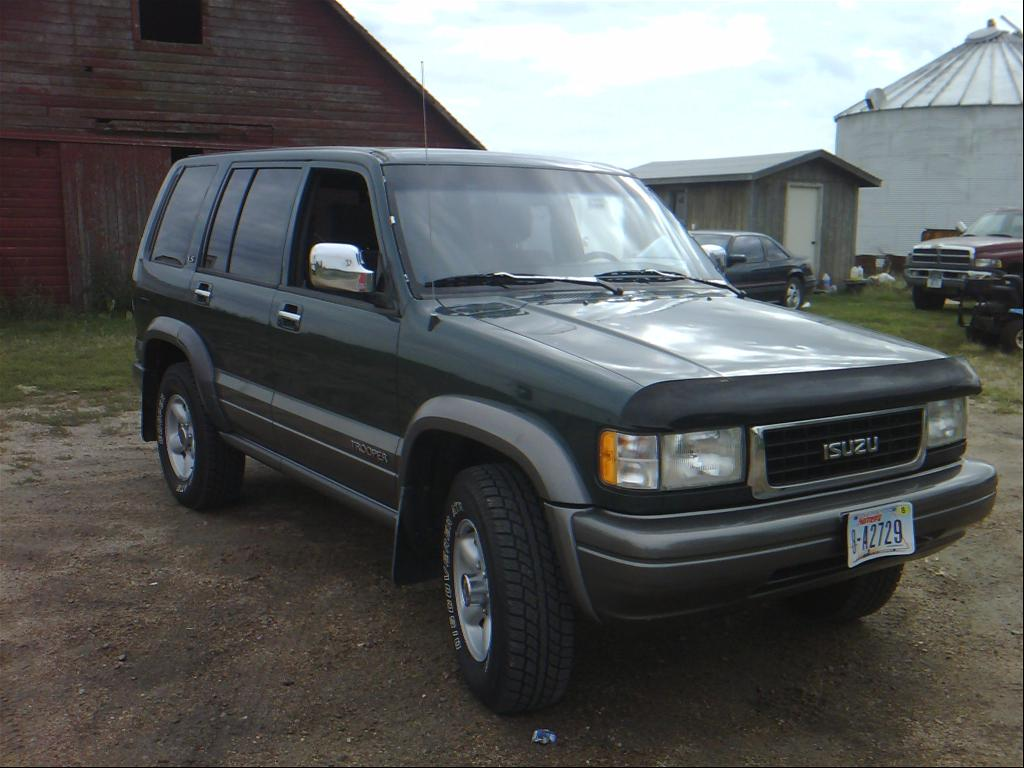 1995 Isuzu Trooper #13