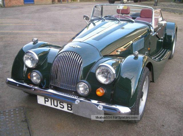1997 Morgan Plus 4 #6