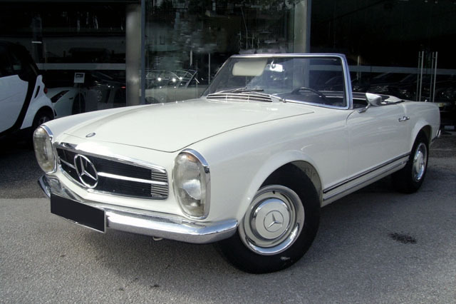 1966 Mercedes-Benz SL #7