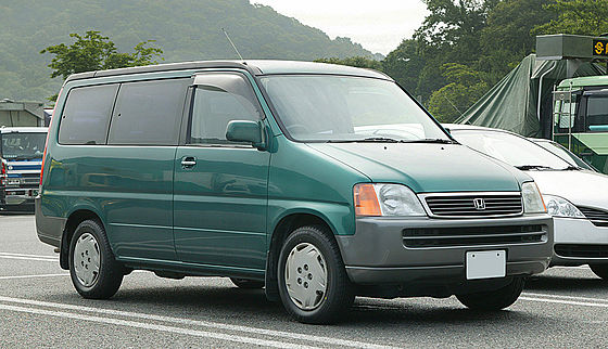 1995 Honda Step Wagon #3