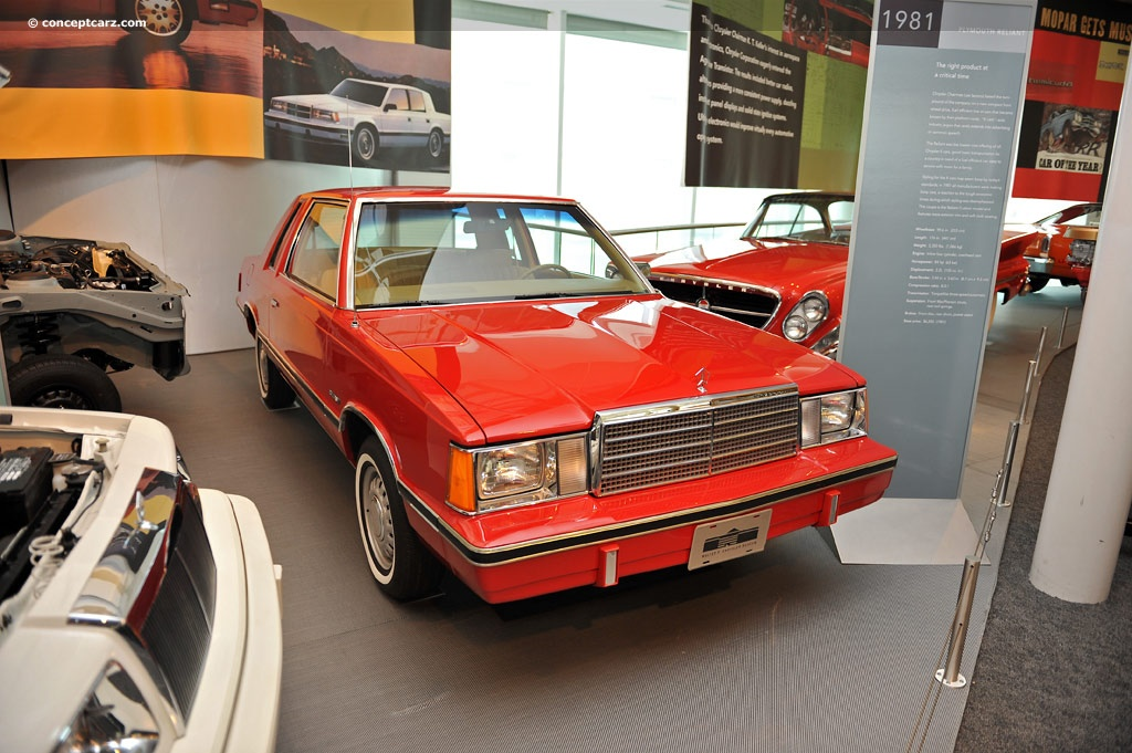 1981 Plymouth Reliant #10