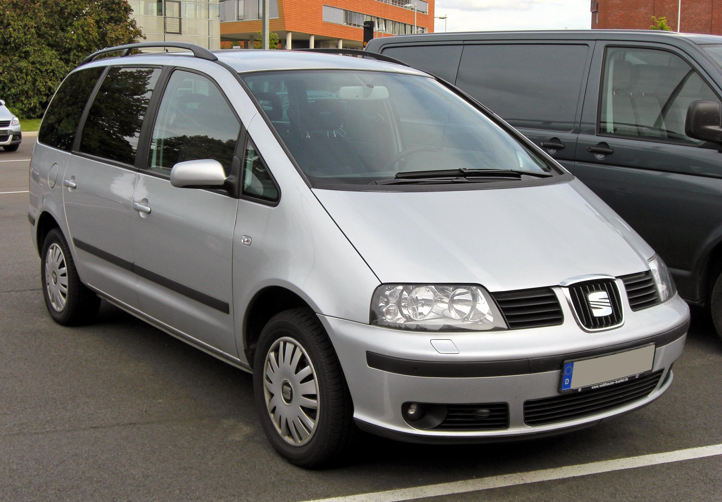 seat alhambra photos informations articles