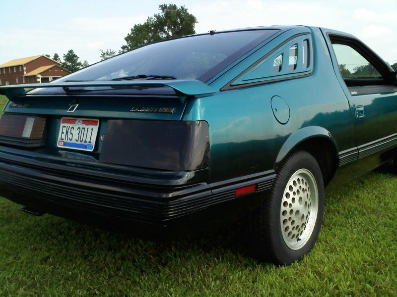 1984 Chrysler Laser #10