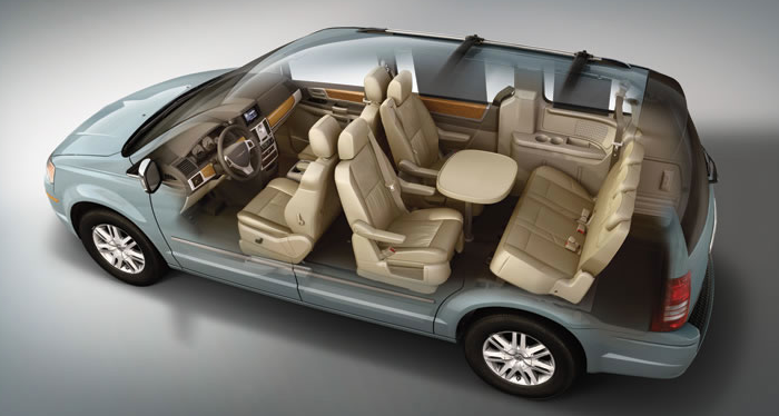 2010 Chrysler Town And Country #11