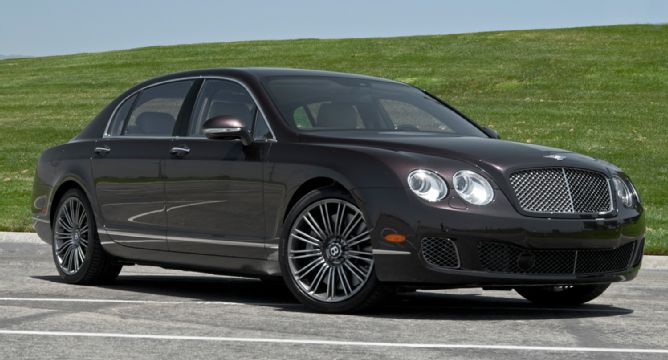 2012 Bentley Continental Flying Spur Speed #4