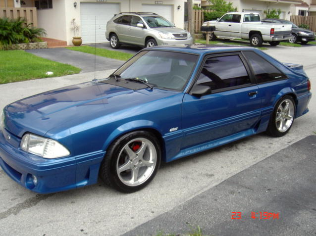 1992 Ford Mustang #5