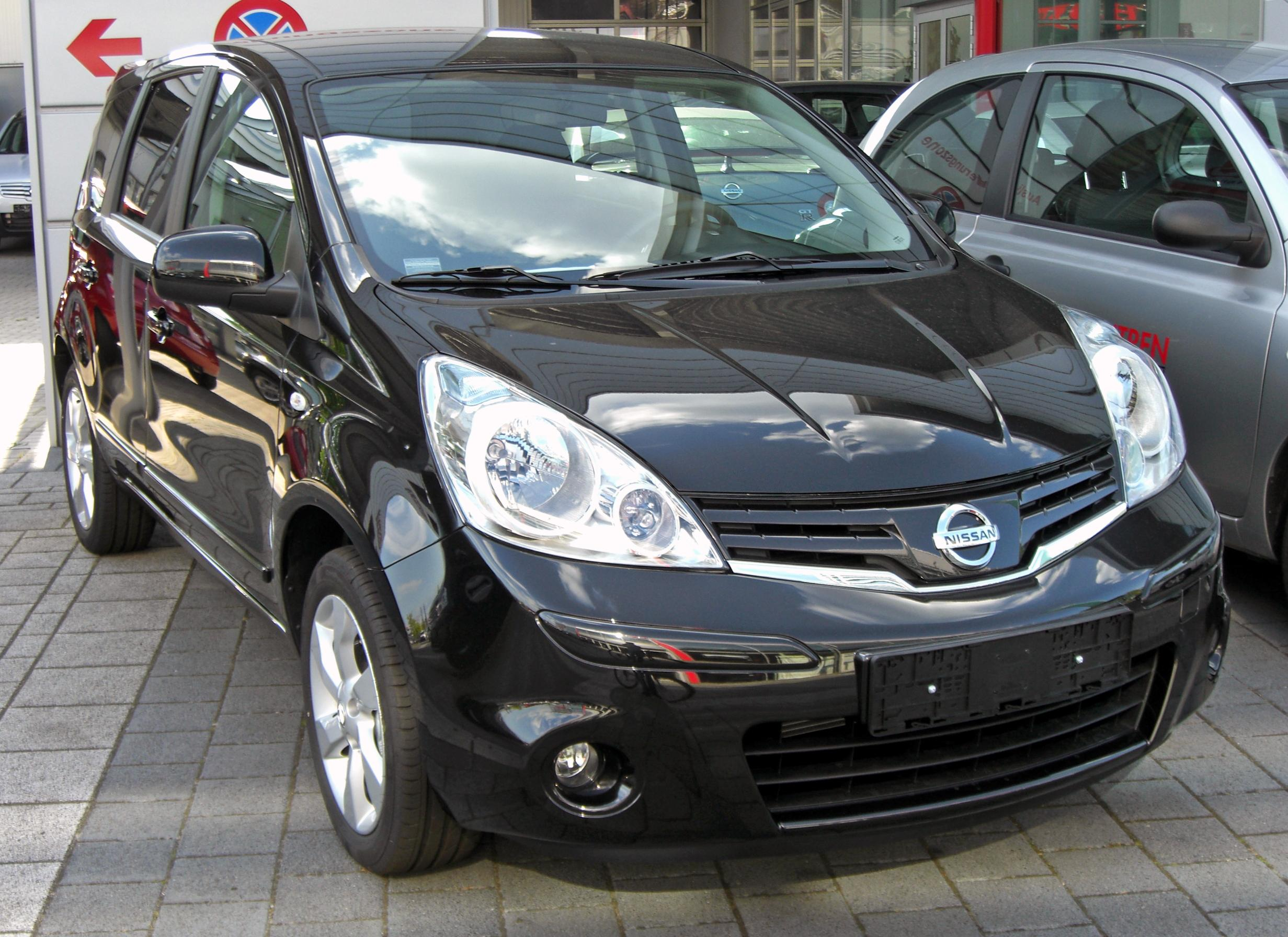 2009 nissan note photos informations articles. Black Bedroom Furniture Sets. Home Design Ideas