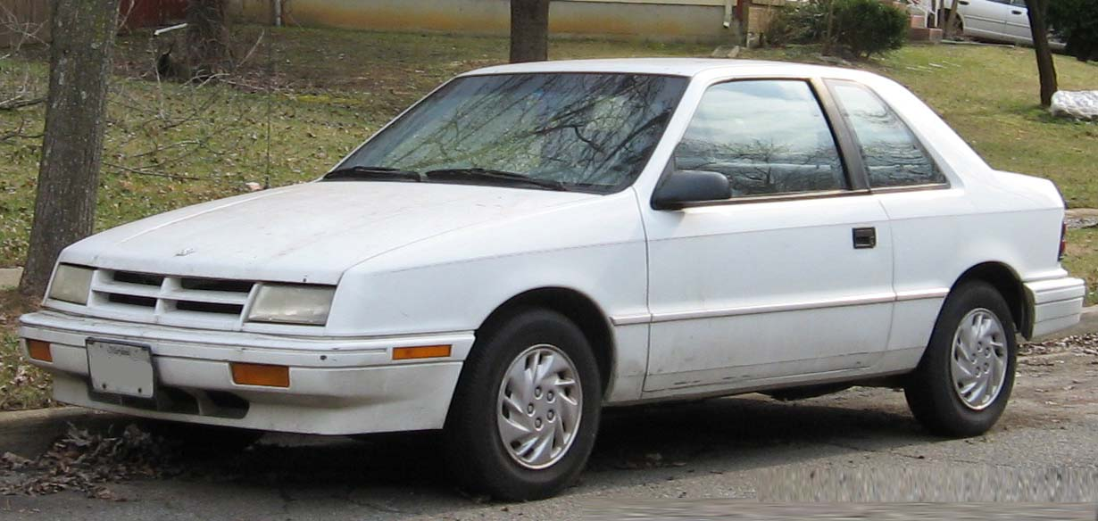 1990 Dodge Shadow #5