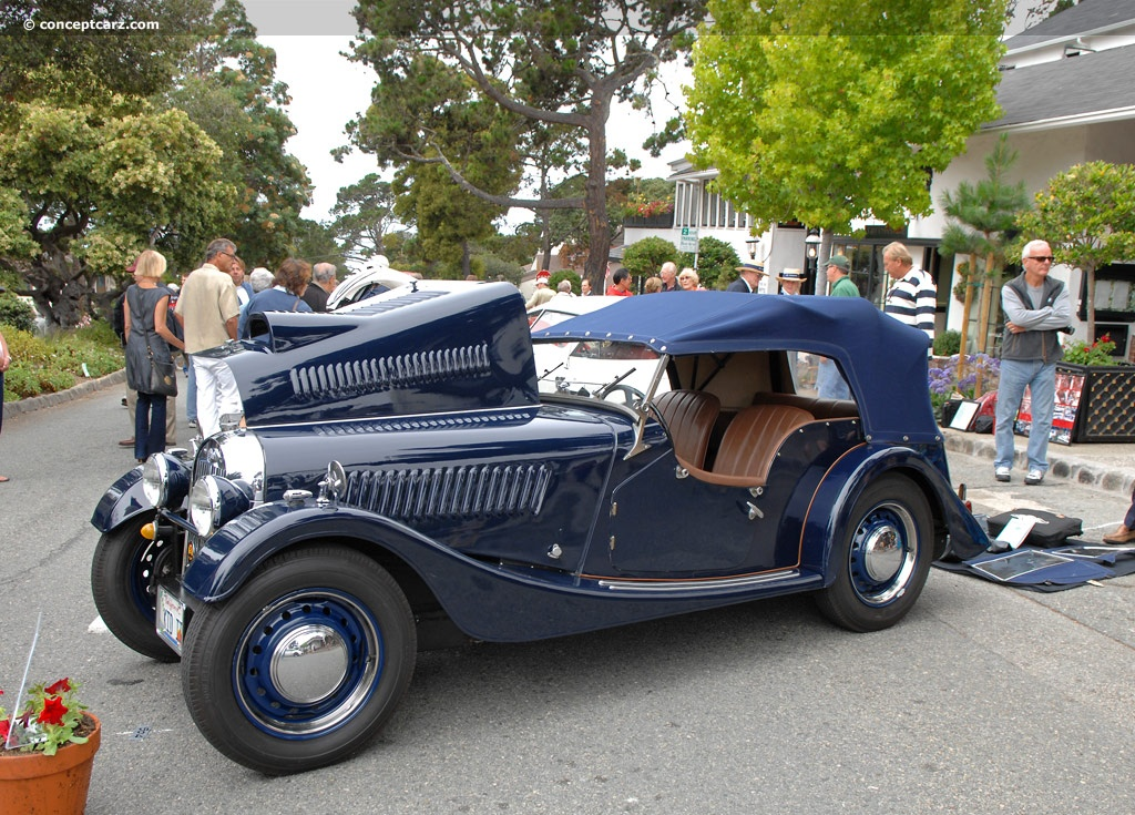 1953 Morgan Plus 4 #12