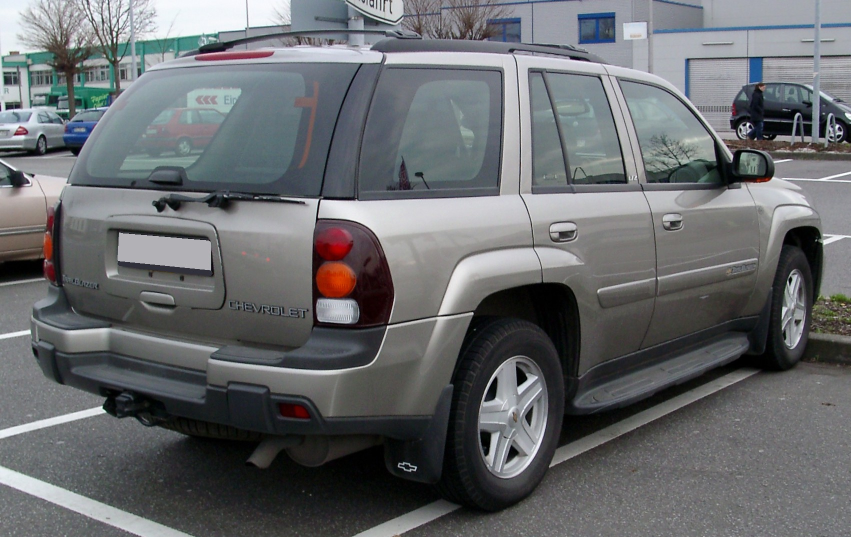 2008 Chevrolet Trailblazer #8