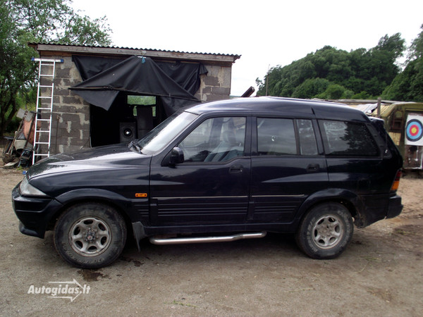 1995 Ssangyong Musso #12