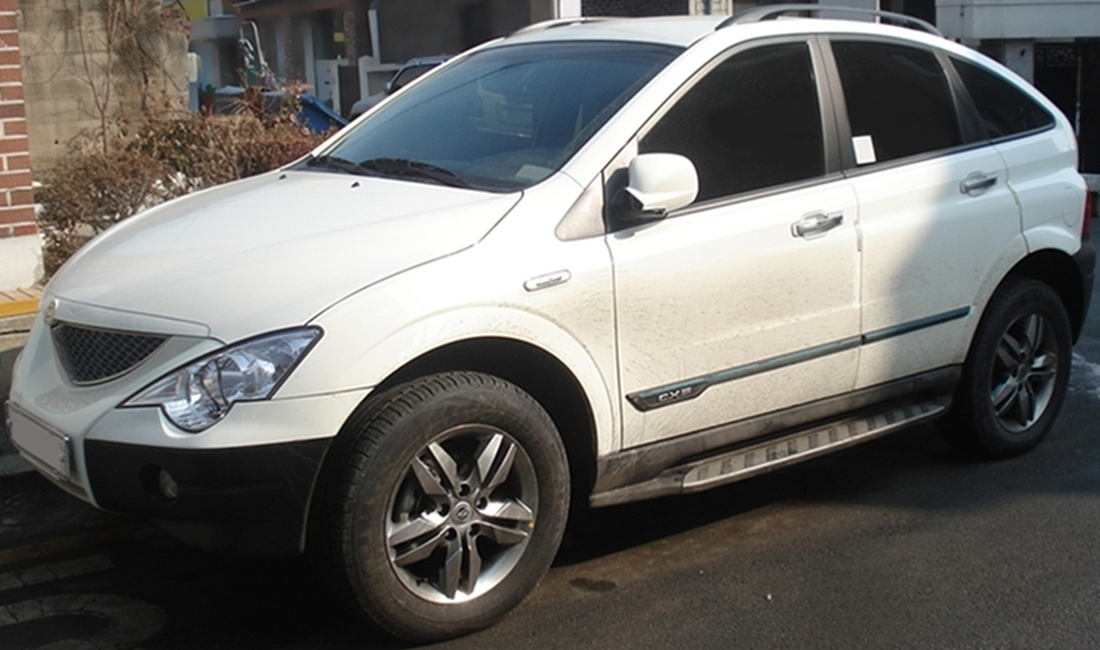 Ssangyong Actyon #10