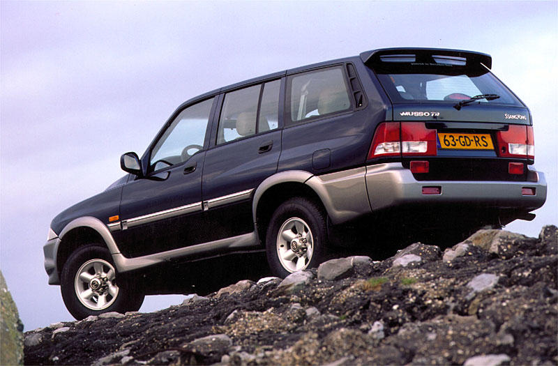 2002 Ssangyong Musso #7