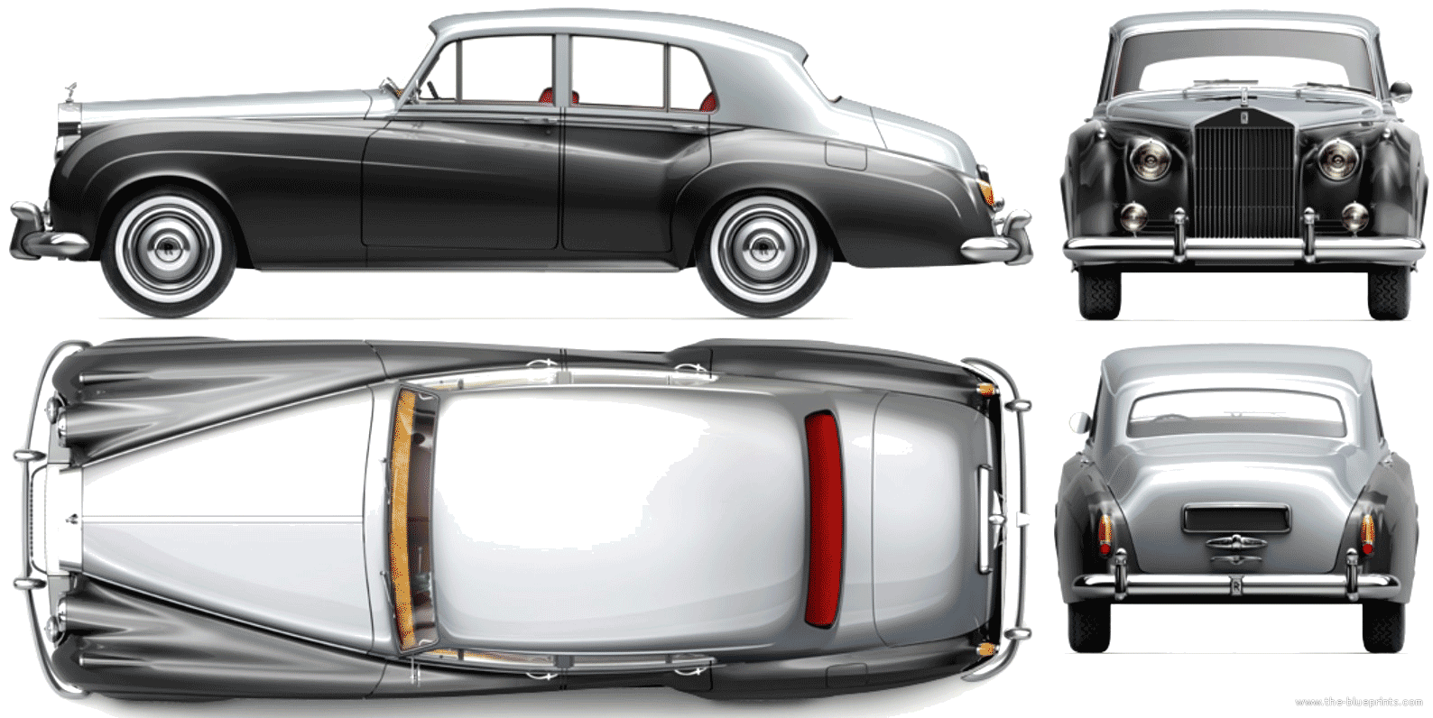 1959 Rolls royce Silver Cloud #7