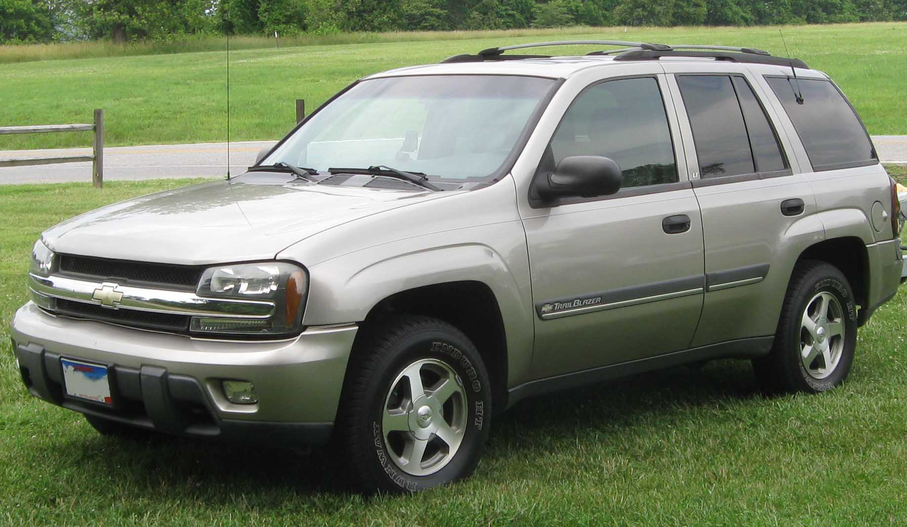 2002 Chevrolet Trailblazer #5