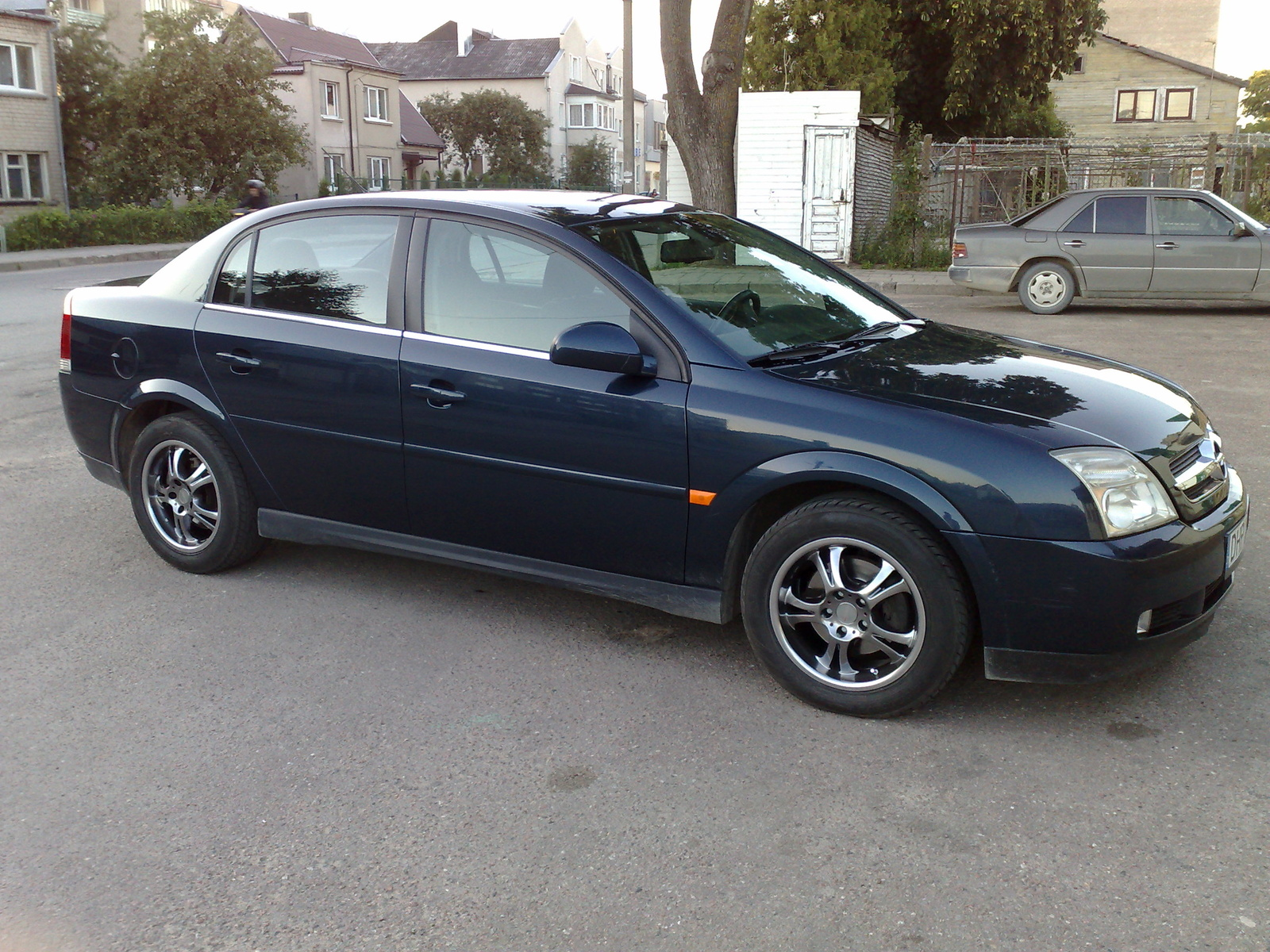 2003 Vauxhall Vectra Photos Informations Articles