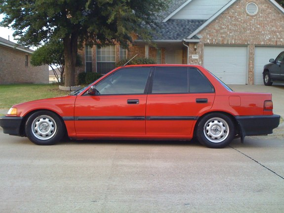 1991 Honda Civic #11