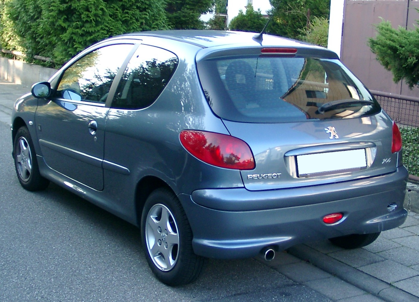 2007 peugeot 206 photos informations articles. Black Bedroom Furniture Sets. Home Design Ideas