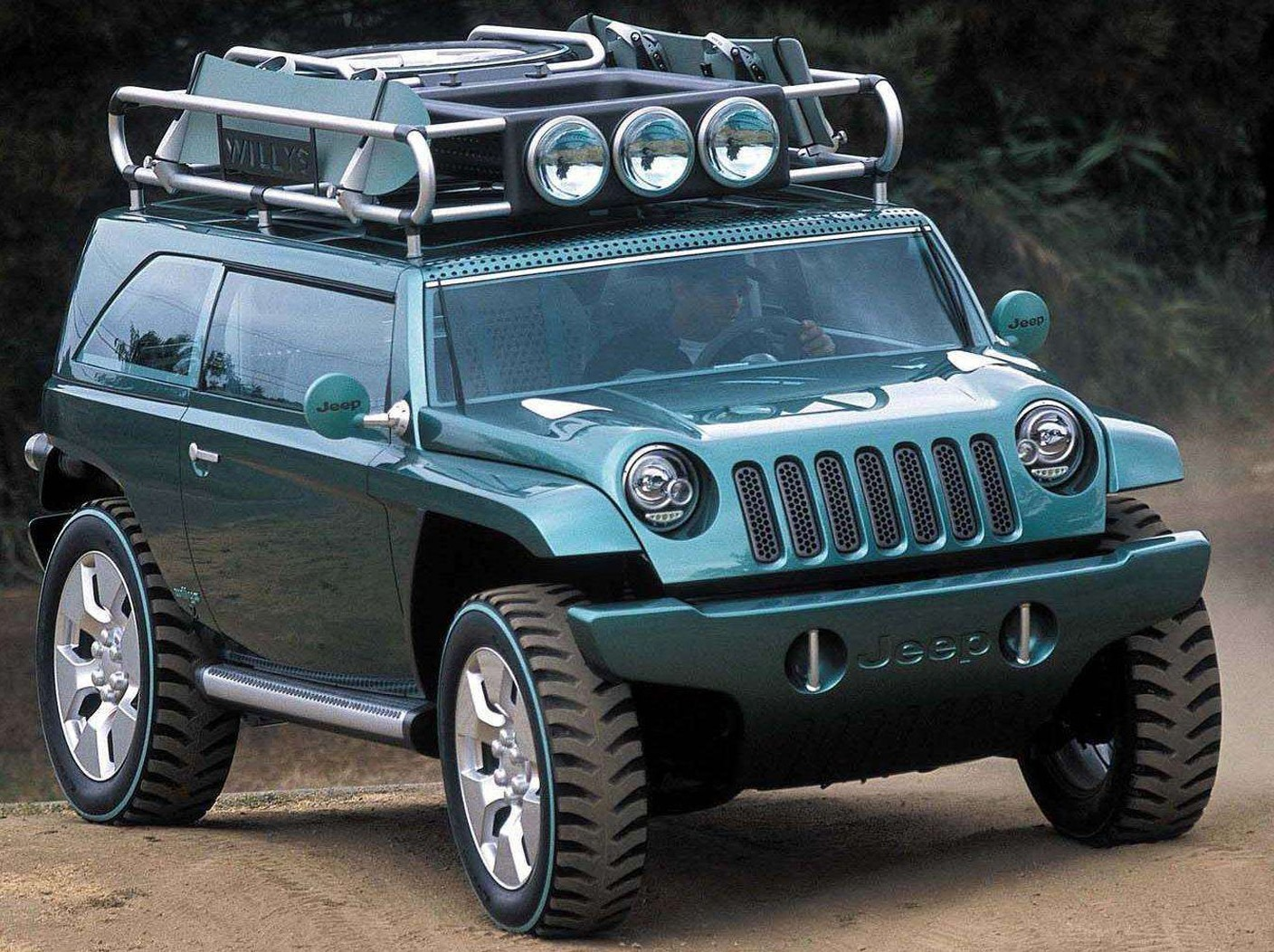 2001 Jeep Willys #7